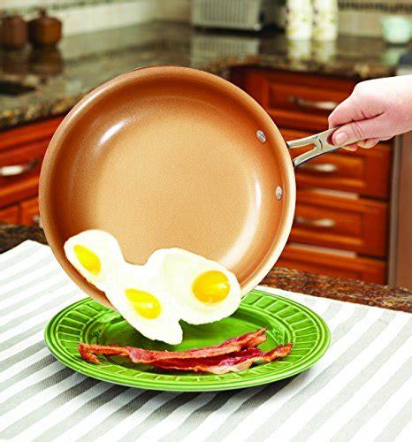 red copper  pc copper infused ceramic  stick cookware set  bulbhead  offer