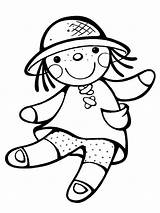 Doll Coloring Pages Dolls Printable Ragdoll Lol Toys Print Loldolls Kaynak Recommended sketch template