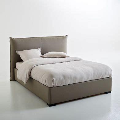 la redoute canapé lit lit coffre avec sommier relevable pancho lits rembourr 233 s