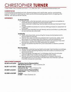 Customer & Service Resume Examples