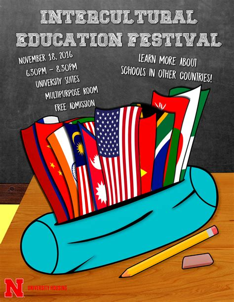 housing  host international education week festival