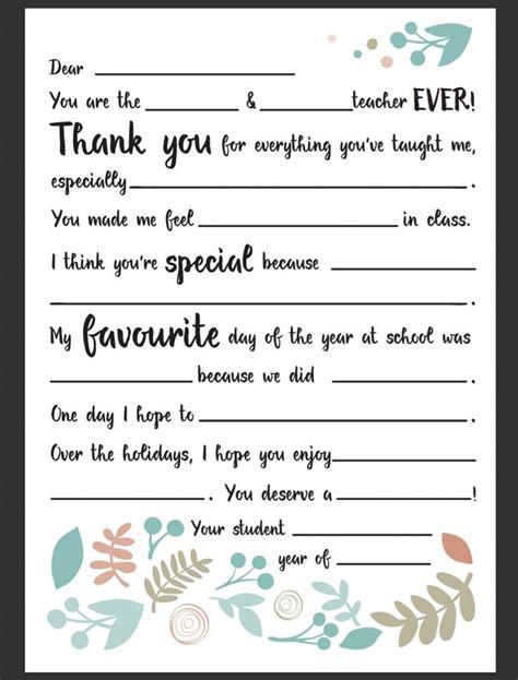 dear teacher letter   fun mum