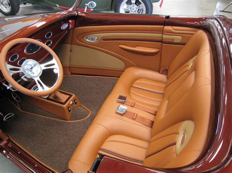 Custom Street Rod Interiors Pictures To Pin On Pinterest