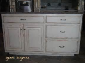 distressed kitchen cabinets pictures lynda bergman decorative artisan white kitchen cabinets
