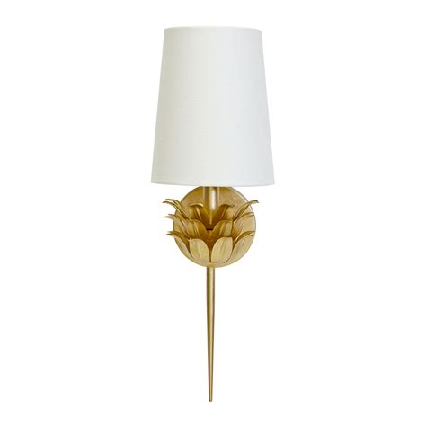 worlds away delilah gold wall sconce