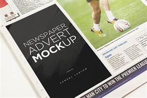 Free Newspaper Ad Template 6 Newspaper Advert Mockups On Behance