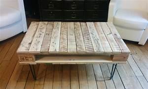 Acheter Meuble En Palette Bois : la table basse en bois de palette de g raldine diy ~ Premium-room.com Idées de Décoration