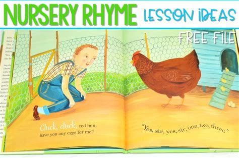 nursery rhyme lesson plans for kindergarten 101 | Slide1 8