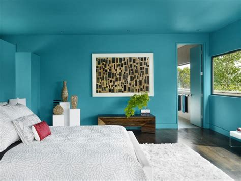 Aqua Colored Home Decor: 25 Paint Color Ideas For Your Home