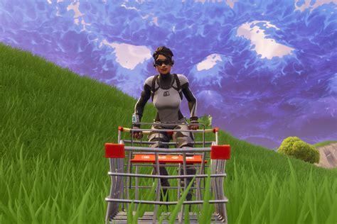 fortnite shopping cart polygon