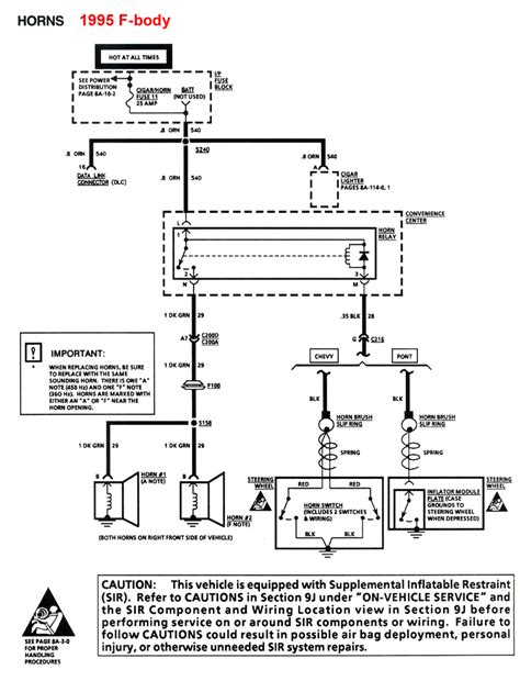 98 Camaro Engine Wiring Diagram by My Horn Lighter Fuse Keeps Blowing Out Camaroz28