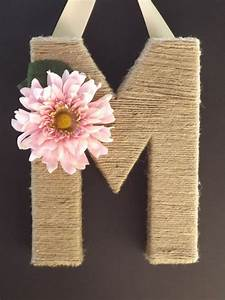 30, Blooming, Diy, Monogram, Letter, Ideas