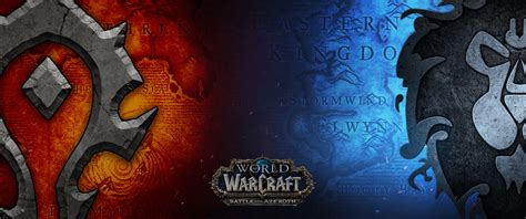World of warcraft cell phone wallpapers group 41. Battle for Azeroth 3440x1440 (Vectorized) by mtheis1987 on DeviantArt