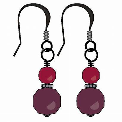 Earring Clipart Cliparts Earrings Wire Clip Loop