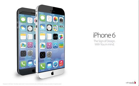 features of iphone 6 iphone 6 concept comes to from ios 7 features