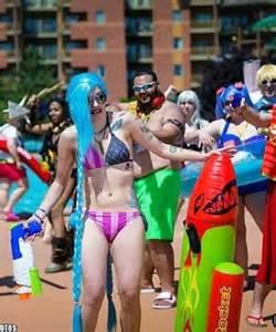 Jinx League of Legends Bikini