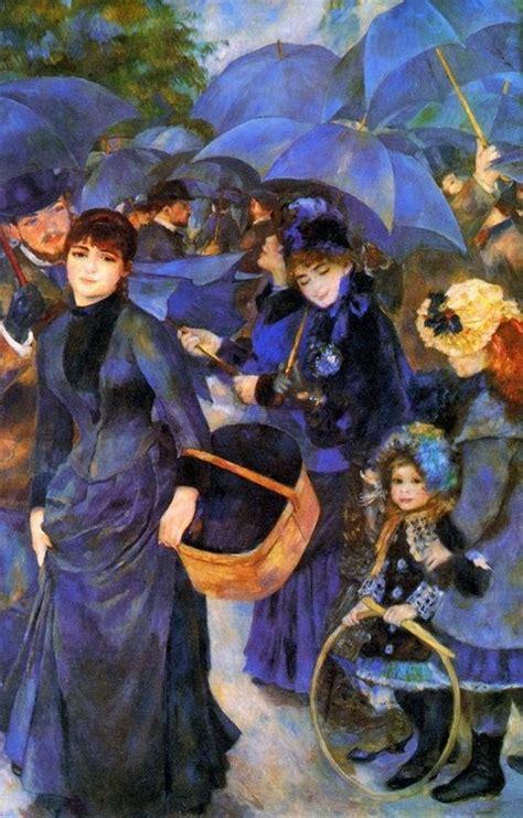 Umbrellas By Pierre Auguste Renoir Victorian Classic