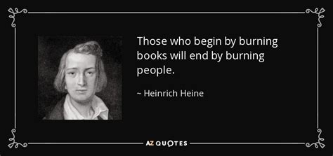Those Who Begin By Burning Books