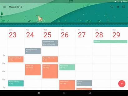 Calendar Prototype Material Dribbble Framer