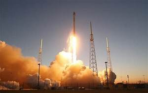 SpaceX launches rocket Sunday carrying two satellites to ...
