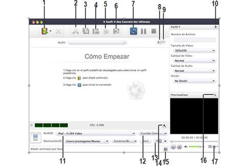 tutorial de xilisoft video convertidor ultimate  mac