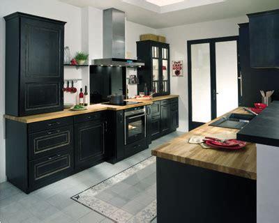univers de la cuisine cuisine ikea noir et bois