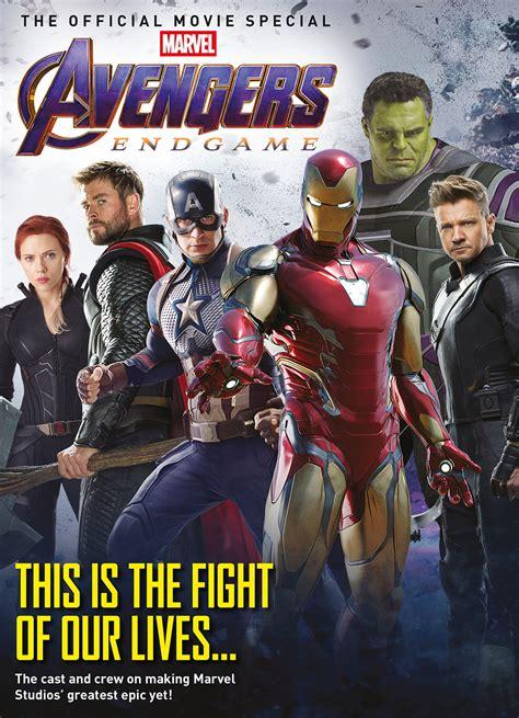 jan avengers endgame official  special mag