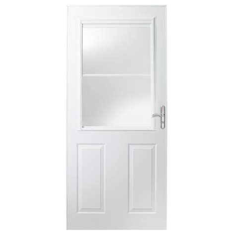 emco 400 series door emco 36 in x 80 in 400 series white universal