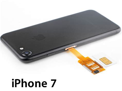 iphone no sim card dual sim card for iphone 7 with back 15337