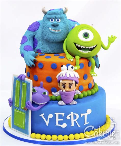 monsters  fully loaded cake   cakerie cebu