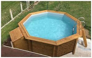 Liner Piscine Octogonale : woodfirst original kit piscine bois 562 x 133 cm ~ Melissatoandfro.com Idées de Décoration