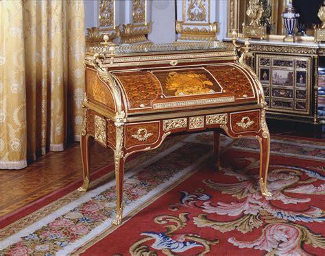 bureau à cylindre jean henri riesener 1734 1806 roll top desk bureau à