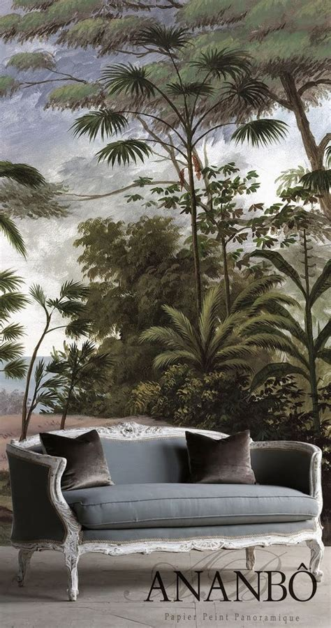 Ananbo Papier Peint by Bali Wallpaper Ananbo Jungle Fever