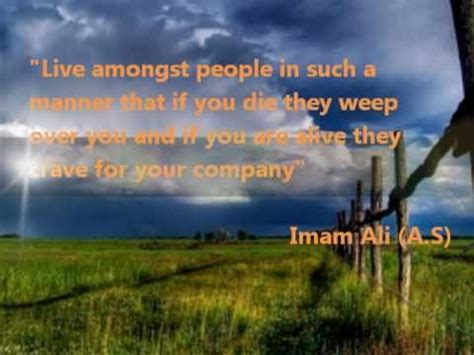great quotes  sayings  imam ali  youtube