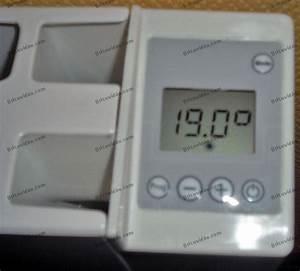 Reglage Thermostat Radiateur Electrique : programmation radiateurs inertie concorde idyle ~ Dailycaller-alerts.com Idées de Décoration