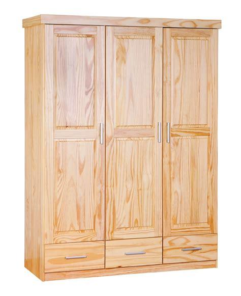 armoire pin massif naturel fabio lestendances fr