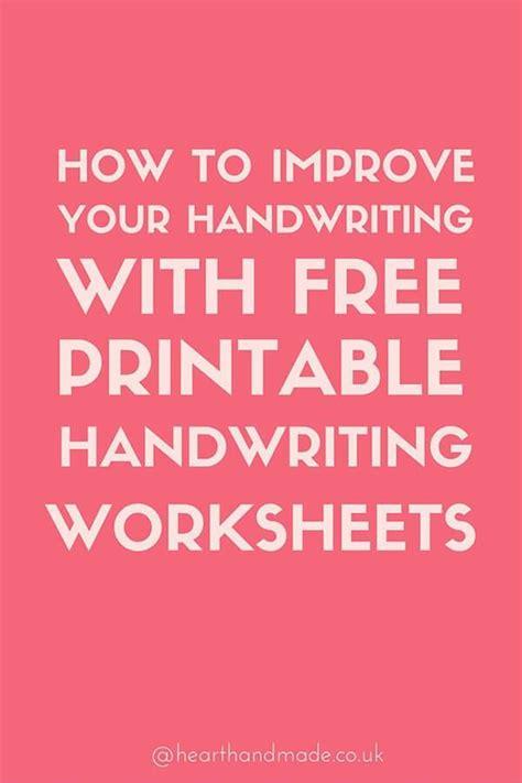 easily improve  handwriting   adult