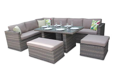 Rattan Garden Sofa Sets by Brantwood Rattan Corner Sofa Dining Set Superb Value For