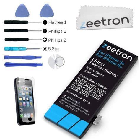 zeetron iphone  replacement battery kit mah