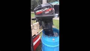 1999 25 Hp Mercury 2 Stroke