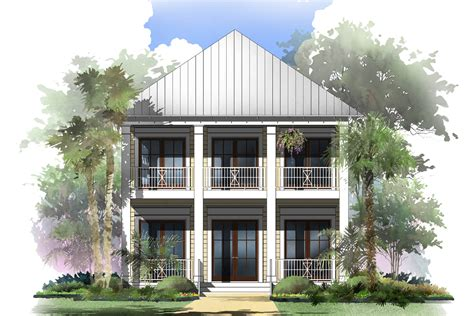 coastal house plan    bedrm  sq ft home theplancollection