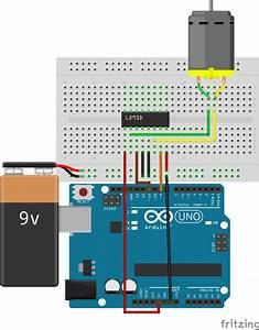 H-bridge Motor Driver In Arduino