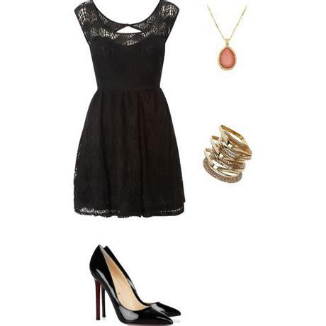 Little black dress polyvore