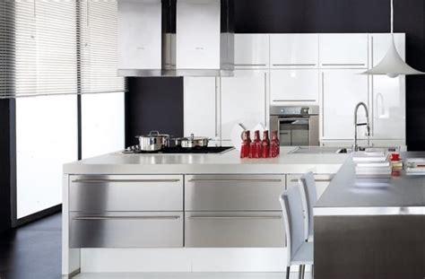 cuisine moderne blanc laqué davaus cuisine moderne laque blanc avec des idées
