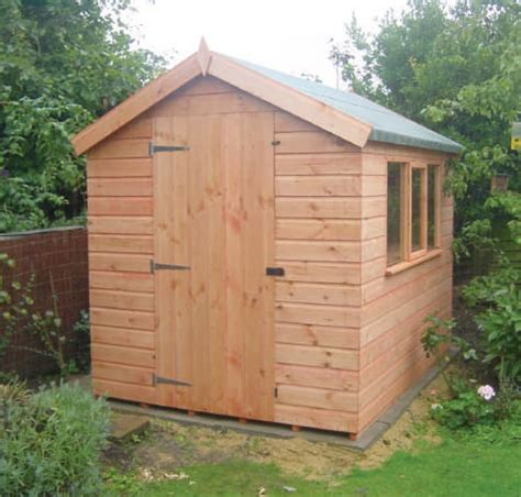 Shiplap Or Tongue And Groove Shed - pent shed with tongue groove shiplap sheds