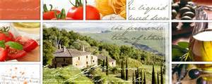 wandbild küche wandbild toscana und seine mediterrane küche shophit serie 125x50cm