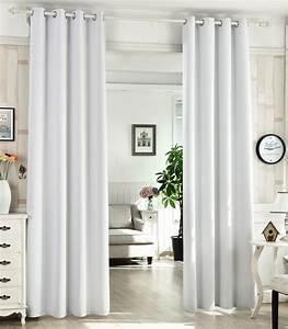 ösen Gardinen Grau : 2er set gardinen vorhang blickdicht sen 135x245cm grau blau wei vh5865ws 2 ebay ~ Frokenaadalensverden.com Haus und Dekorationen