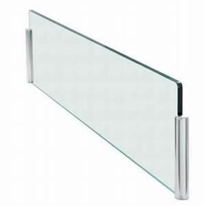 Plaque De Verre Pour Table : protection ilot kit anti projection ilot verre ~ Dailycaller-alerts.com Idées de Décoration