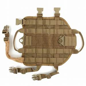 Army Tactical Dog Vests Hunting Dog Training Molle Vest ...
