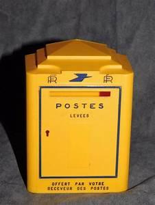 Boite Aux Lettres Vintage : tirelire publicitaire plastique boite aux lettres la poste haut 12 cm deco ancienne retro ~ Teatrodelosmanantiales.com Idées de Décoration